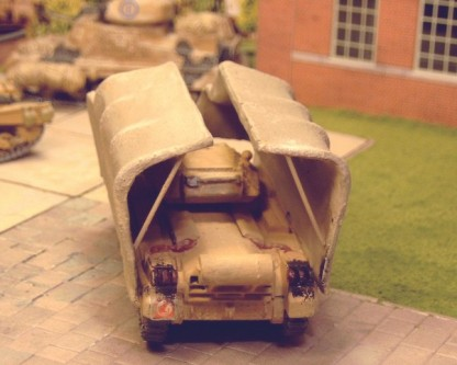 Crusader I with Sunshade - Matador Models