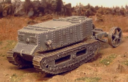 Little Willie - the first tank - Matador Models
