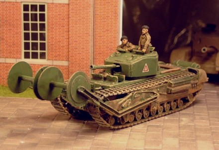 Churchill III  with Twin Bobbin  - Matador Models