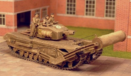 Churchill AVRE III with Carpet Layer  - Matador Models