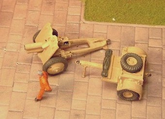 4.5 inch Howitzer, Martin Parry Conversion  - Matador Models