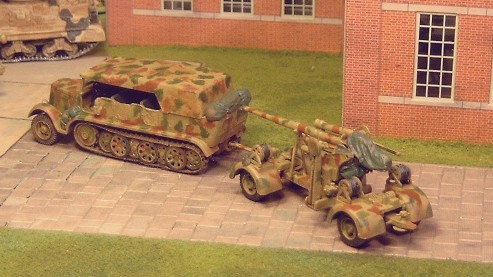 SdKf7 half track. and 8.8cm - Matador Models