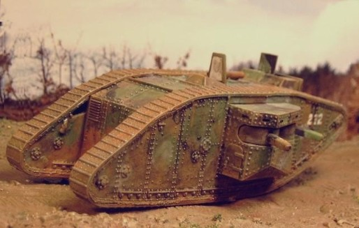 WW1 Mark II Female Tank