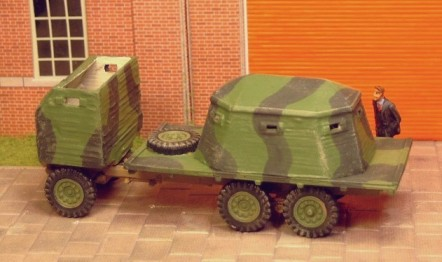 Bison 6x4 armoured lorry  - Matador Models