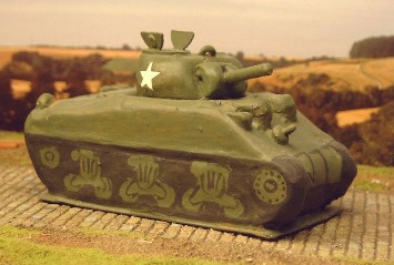 Dummy Sherman  - Matador Models
