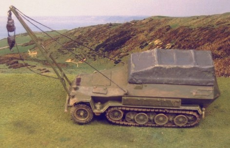 Russian ARV on SdKfz 251, - Matador Models