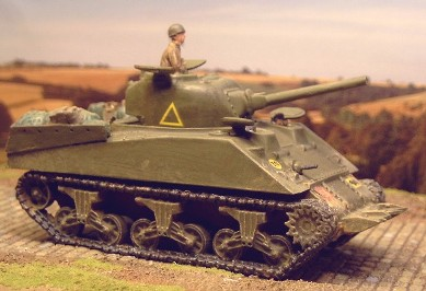 Sherman with Cullin device,  Normandy 1944  - Matador Models